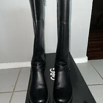 G by Guess Womens Haydin Almond Toe Knee High Fashion Boots Black Size 8.0 N7m Photo