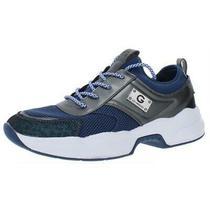 G by Guess Womens Jimmi 5 Blue Mesh Dad Sneakers Shoes 6 Medium (Bm) Bhfo 8491 Photo