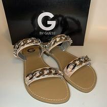 G by Guess Womens Tunez Pink Slide Sandals Size 8.5 Photo