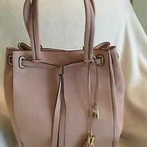 g.i.l.i. Smooth Leather Large Tote Bag Blush New Photo