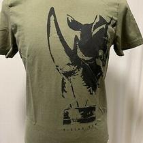G-Star Raw. Men's Green Hudson Big Rino T-Shirt. Sz. M Photo