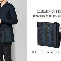 G040.. Bottega Veneta Messenger Bag Intrecciato Nappa Made in Italy 4233 Navy Photo