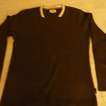 G2 Men Gray v Neck Sweater Hong Kong Express Mens Small Adult New Photo