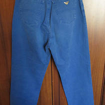 Ga Giorgio Armani Jeans Mens Jeans Size 26 X 29 26x29 Aqua Blue Eco - Stone Used Photo
