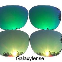 Galaxy Replacement Lenses for Oakley Garage Rock gold&green Polarized 2 Pairs Photo