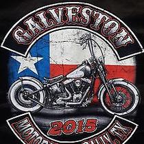 Galveston 2015 Texas Flag Bike Denim Commando Orange X Large  Photo