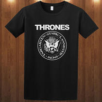 Game of Thrones Ramones Tee Fantasy Drama Television T-Shirt S M L Xl 2-3xl Photo