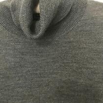 Gap 100% Merino Wool Turtleneck Sweater Dark Gray Xsmall Photo