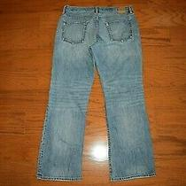 Gap 1969 -  Boot Cut Blue Jeans - Men Size 33 X 30 - Excellent - Ringspun Denim Photo
