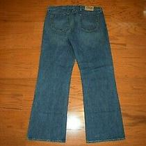 Gap 1969 -  Boot Cut Blue Jeans - Men Size 38 X 34 - Excellent Photo