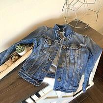 Gap 1969 Brand Stone Washed Long Sleeve Denim Jean Jacket Size Xs Photo