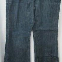Gap 1969 Flare Stretch Blue Denim Jeans - Size 14a-14c Photo