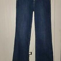 Gap 1969 Jeans Size 30  36.5 Inseam Flare High Rise Button Up Jeans  Photo