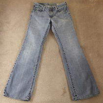 Gap 1969 Jeans Western Boot Cut Low Rise Light Wash Light Weight 4 R  X 31 3/4 Photo