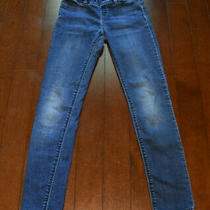 Gap 1969 Jeggings Stretchy Skinny Jean Medium Wash Elastic Waist Girls 10 R Photo