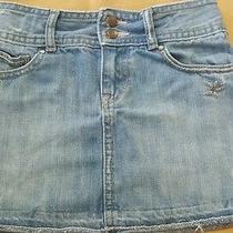 Gap 1969 Kids Girls Size 6 Skirt Jean  Photo