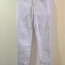 Gap 1969 Legging Jean Purple Dot Jeans Size 26r X 27 Photo