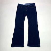 Gap 1969 Long & Lean Boot Cut Womens Size 29/8 Ankle Dark Wash Denim Jeans Photo