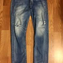 Gap 1969 Original Fit 32 T Distressed Vintage Selvedge Denim Jeans Kanye Apc Photo