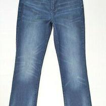 Gap 1969 Perfect Boot Size 27 Short Womens Dark Wash Stretch Denim Blue Jeans  Photo