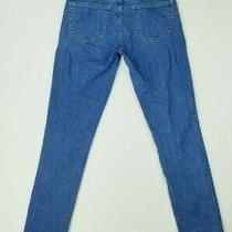 Gap 1969 Size 24 Women's Gf Blowout Medium Indigo Blue Denim Jeans Photo