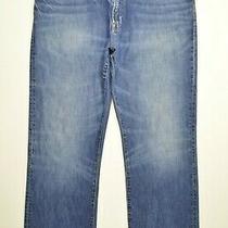 Gap 1969 Size 38 X 31 Mens Standard Vintage Straight Leg Medium Wash Blue Jeans Photo