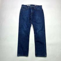 Gap 1969 Standard Taper Mens Size 34 X 32 Dark Wash Denim Jeans Photo