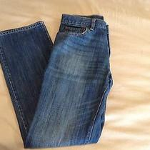 Gap 1969 Straight Leg Blue Denim Jeans Pants Men's 32/34 34