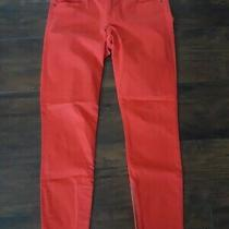 Gap 1969 Womans Legging Jeans Stretch  Size 27/4 Tomato Red Photo