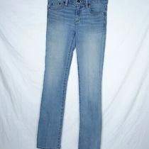 Gap 1969 Women Perfect Boot Cut Jeans Size 26 R Blue Light Wash Stretch Denim Photo