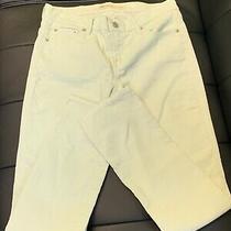 Gap 1969 Women's Best Girlfriend Boot Mint Green Corduroy Pants Size 26 X 31.5 Photo