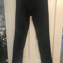 Gap 1969 Women's Real Straight Jeans Dark Wash Size 27 Long Inseam 32.5