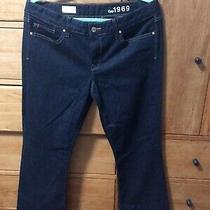 Gap 1969 Womens Jeans Size 30 S Curvy Dark Blue New Without Tags Photo