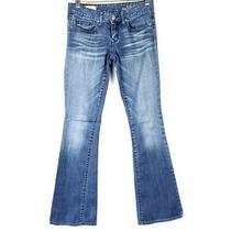 Gap 1969 Womens Jeans Sz 25 Curvy Fit Medium Wash Boot Cut Flare Low Rise Denim  Photo