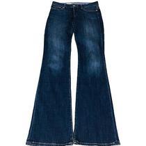 Gap 69 Womens Curvy Bootcut Low Rise Medium Stretch Blue Denim Jeans Size 28/0r Photo