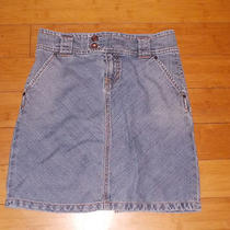 Gap   a-Line Jean Skirt Size 2 Photo