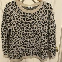 Gap Animal Print Sweater Size Large Photo