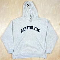 Gap Athletic Men's Pullover Hooded Grey Sweatshirt Size Xl  Photo
