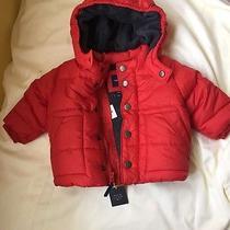 Gap Baby Boy Red Puffer Jacket Photo