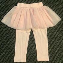 Gap Baby Cameo Pink Tulle Tutu Leggings 24 Months Photo