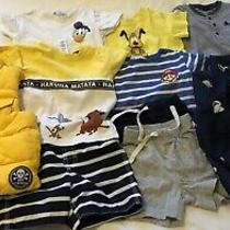 Gap Baby Disney Baby h&m- Baby Boy Clothing Lot 10 Items- 18-24 Months Photo