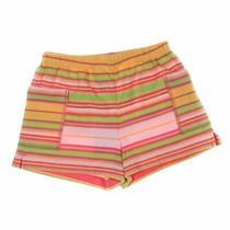 Gap Baby Girls  Shorts Size 3 Mo  Pink Orange Yellow  Cotton Photo