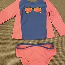 Gap Baby Rash Guard 2-Piece Swimsuit 12-18 Months Photo