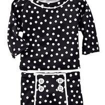 Gap Baby Toddler Girl 3 Years / 3t Nwt 2-Piece Rashguard Bathing Suit Polka Dot Photo