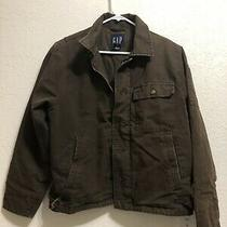 Gap Barn Chore L Canvas Jacket Brown Size Xs Photo