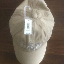 Gap Baseball Cap-Beige With Embroidered Gap Logo-Adult One Size Fits All- Nwt Photo