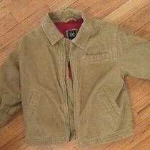 Gap Beige  Corduroy Boys Jacket Size  Xs 4 Photo