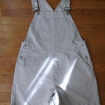 Gap Beige Overalls Shortalls Medium Photo