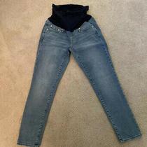 Gap Best Girlfriend Maternity Jeans Full Panel Size 26 Photo