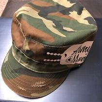 Gap Big G Adjustable Vintage Army Green Baseball Hat Cap One Size Fits All Photo